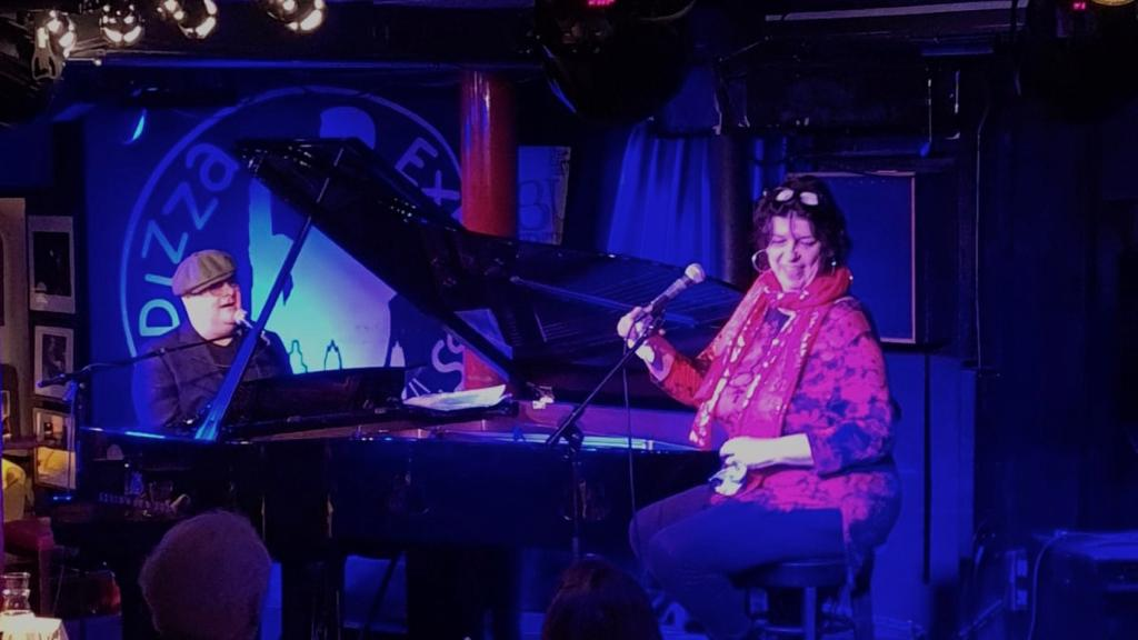Liane Carroll and Ian Shaw at Pizza Express Jazz Club, Dean Street (re-opening gig)